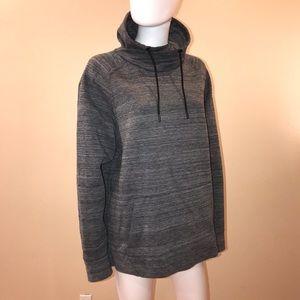 H&M Funnel Neck Sweatshirt Dark Grey Unisex